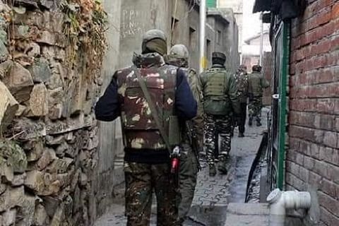 Security forces launch search operation in north Kashmir's Sopore