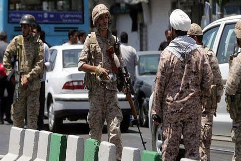 IS claims killing of 29 at Iran military parade