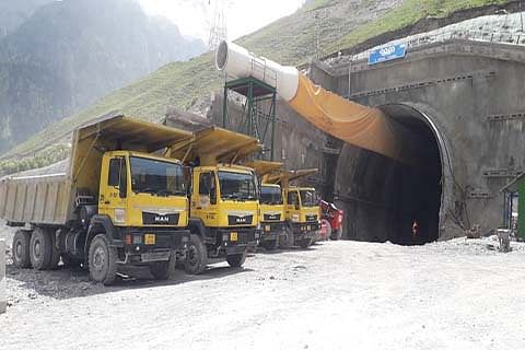 Z-Morh tunnel likely to be ready by June 2021