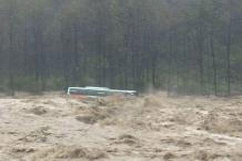 Himachal flash floods: 7 rescued, 9 still missing