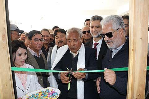GK Medical Diagnostic Laboratory inaugurated at Leh