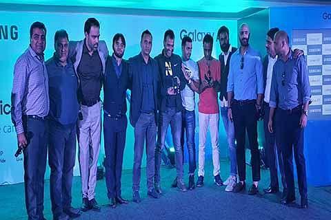 Samsung launches Galaxy A7+ in Srinagar