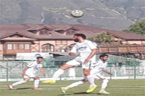 JKFA's Super Division League Football : Arco FC thrash Solina FC
