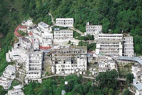 "Mata Vaishnodevi declared ""cleanest religious place"""