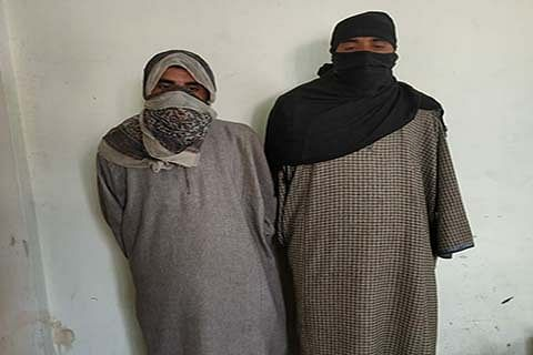 Police bust Hizb module in north Kashmir