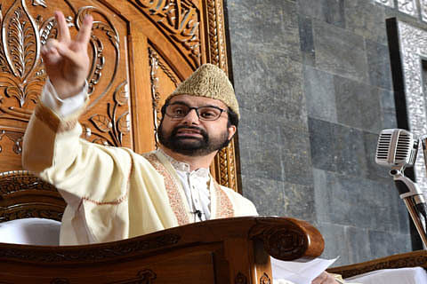 Elections in Kashmir mere eyewash: Mirwaiz