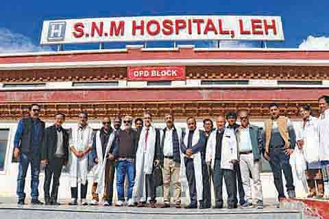 2 day GK Free Medical, Surgical camp concludes in Leh