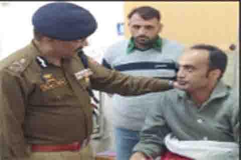 DGP Singh visits 92 base hospital