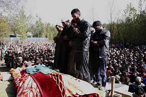 Student-turned-militant killed in Pulwama