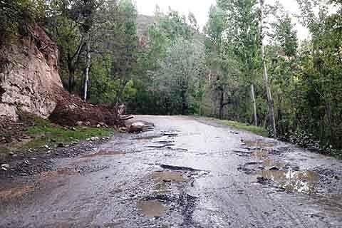 Manigam-Durpora link road in shambles