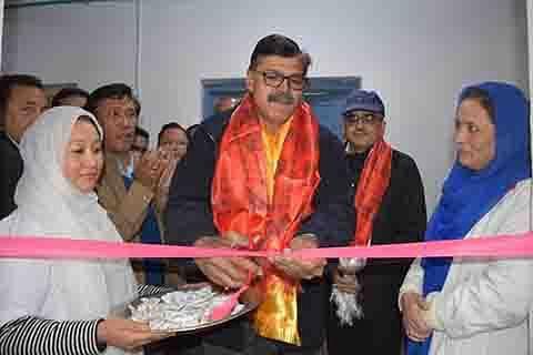 Advisor Kumar visits Kargil, reviews developmental scenario