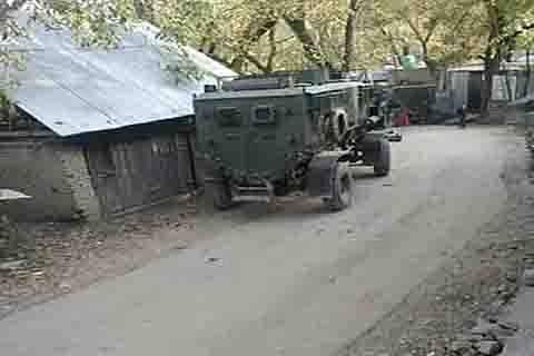 Clashes during CASO in Sopore