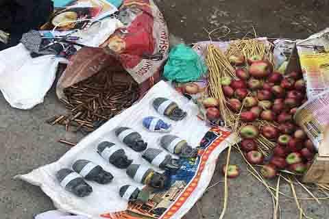 HMT Shootout: 3 militants held: Police