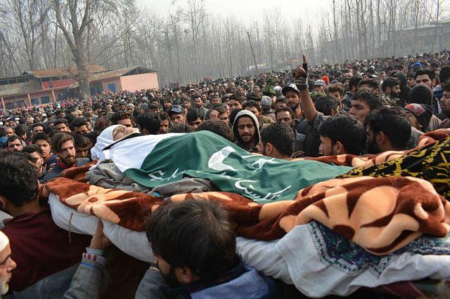 Thousands Bid Emotional Farewell to Muskaan Jan in South Kashmir's Kulgam