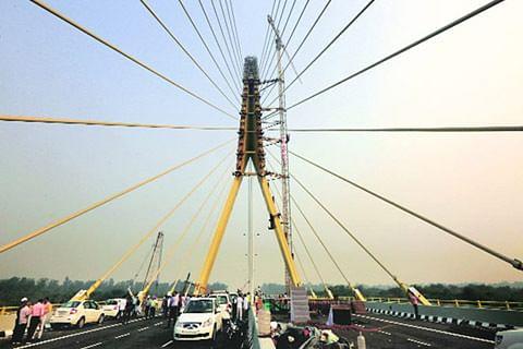 Delhi's Signature Bridge opens for public