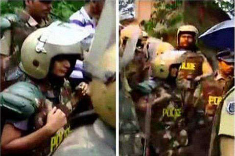 Women targeted by Sabarimala protesters