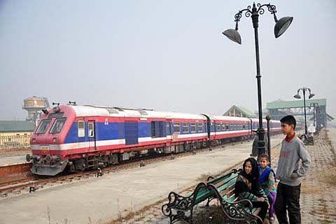 A train to Qazigund