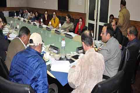 Functioning of labor department reviewed