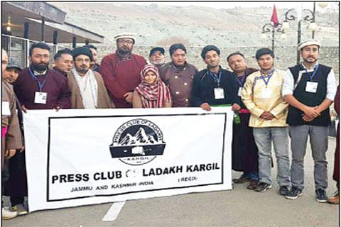Kargil press club inaugurated, Hosain Khalo elected president
