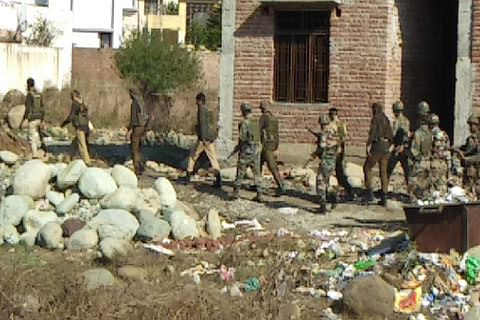 Forces launch searches in Rajouri areas
