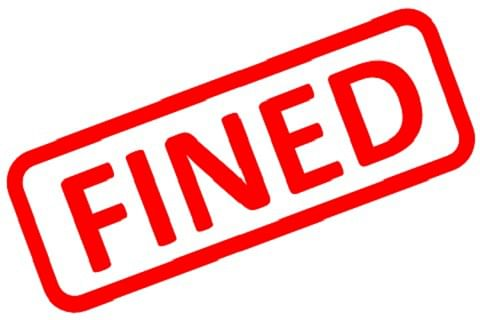 Car accessories company fined for violating norms