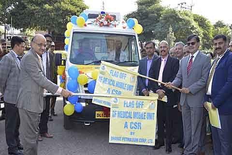 BP donates mobile medical van under CSR