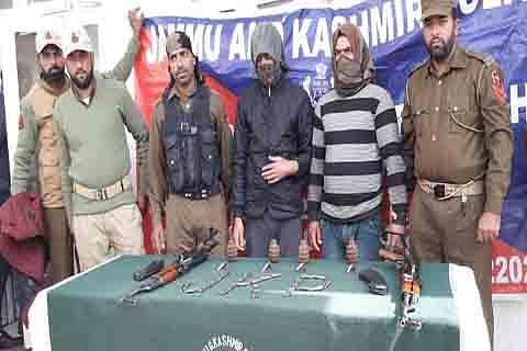 'Arrested Pulwama men were militant associates'