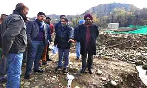 6 World Bank funded projects being built in Baramulla