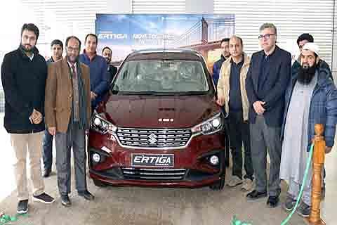 Maruti Suzuki launches next gen Ertiga in Kashmir