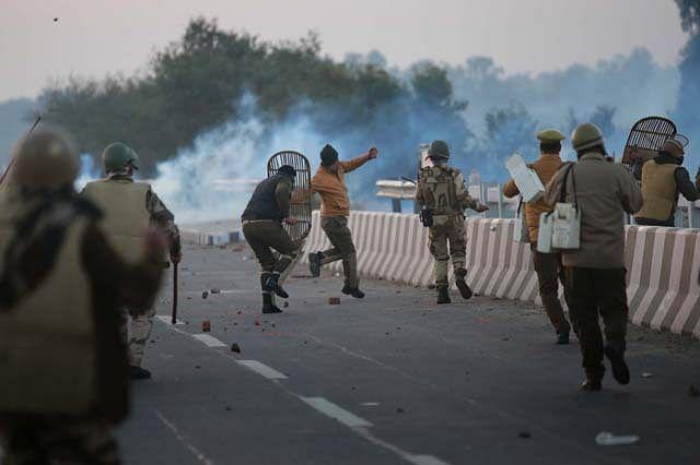 Violent protests during demolition drive in Beli Charana, Jammu