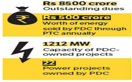PDC's generation plans suffer as power department delays payment
