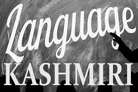 Kashmiri as an Official Language: New Vistas