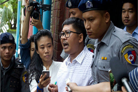 Myanmar court to hear jailed Reuters reporters appeal this month