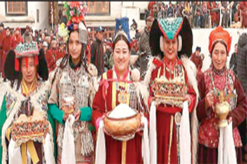 Losar celebrated in Ladakh