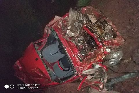 Three children among seven dead as vehicle falls into gorge in Reasi