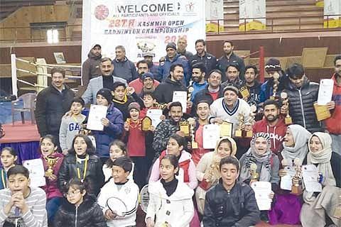 28th Open Kashmir badminton championship concludes