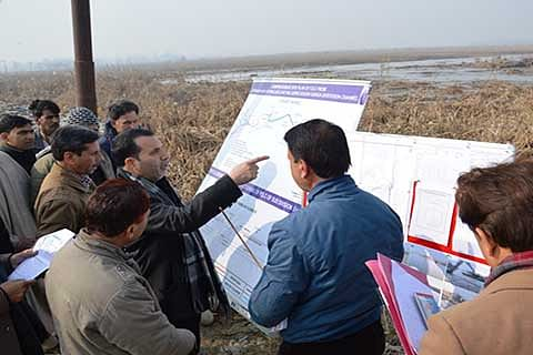 'Government committed to increase carrying capacity of flood channels'