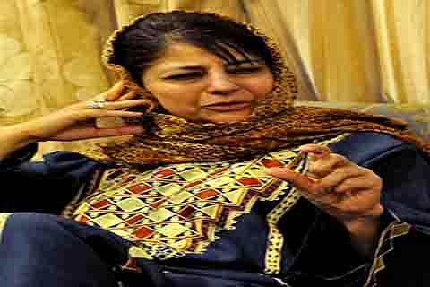Amid rebellion, Mehbooba chairs PDP core group meeting