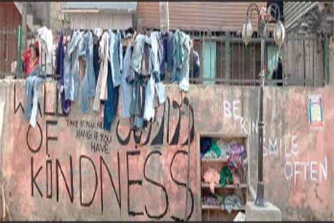 'Wall of Kindness' initiative reaches Banihal