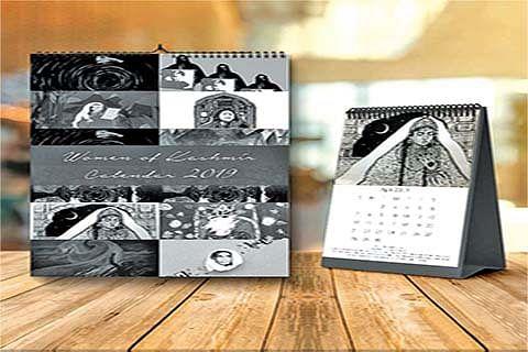 2019 calendar celebrates Kashmir's inspirational women