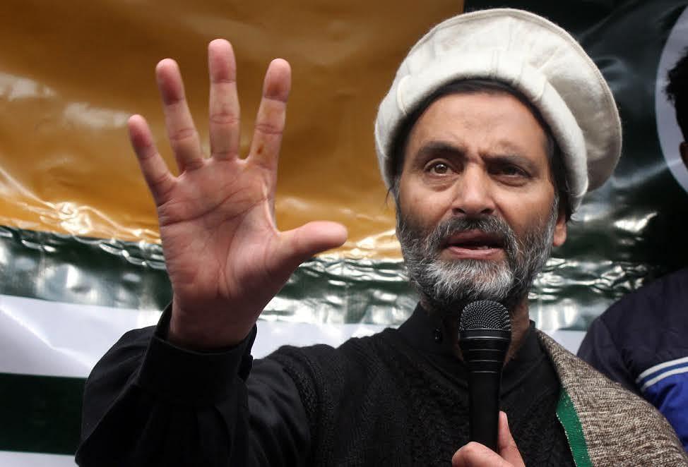 Rulers enforcing peace in Kashmir: JKLF