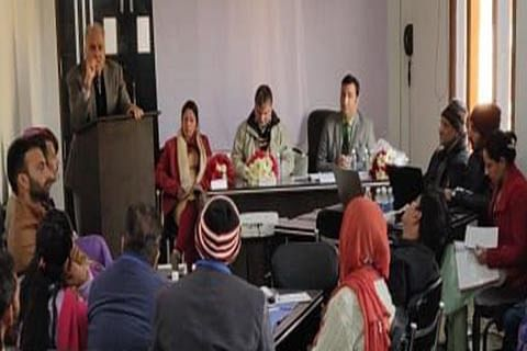 Justice Masoodi for strengthening 'child protection mechanism' at village level