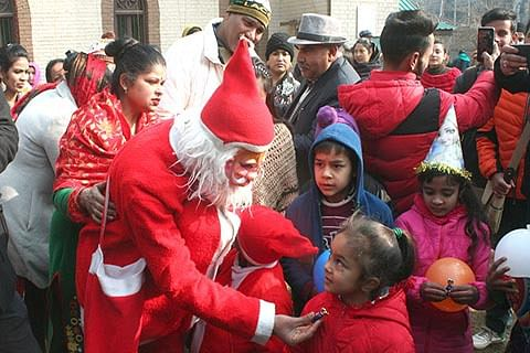 Christmas celebrated across J&K