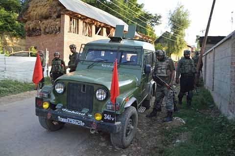 Militant hideout unearthed near Hizb commander Riyaz Naikoo's village in Awantipora