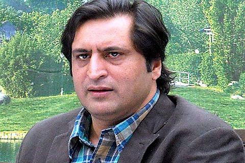 Top IPS officer indulging in electoral politics in Kashmir, alleges Sajad Lone