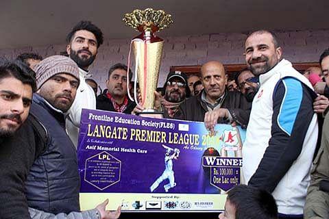 Langate Premier League Cricket tourney concludes amid festive fervor