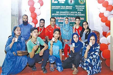 8th National Field Archery Championship: Nifa Nusrat bags 3 golds and a silver as J&K win 10 medals