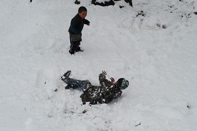 Fresh Snowfall Breaks Cold Wave Cycle In Kashmir
