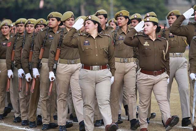 Full-dress Rehearsal For R-Day Function in Jammu