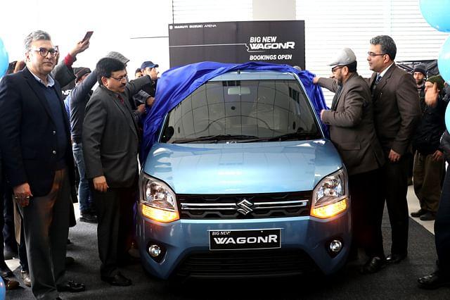 Big New WagonR launched in Srinagar